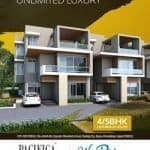 4 BHK Villas in WESTRIDGE Project at Bopal Ahmedabad