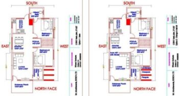 21x31 north face plan