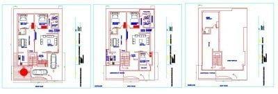 EAST-FACE-40X60-PLOT_-GROUND-FLOOR_FIRST-FLOOR_-SECOND-FLOOR-HOUSE-PLAN