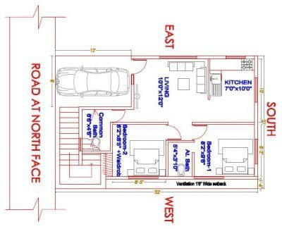 21x31-North-face-2-BHK