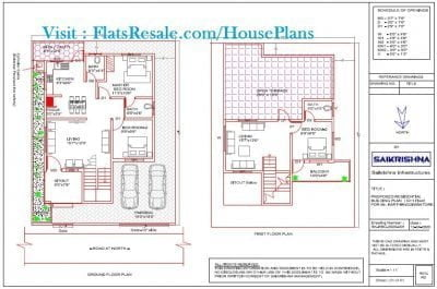 35x45-house-plan-2-bhk-with-2-Car-parking