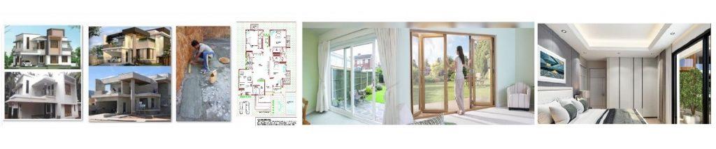 house plans, 3d elevation