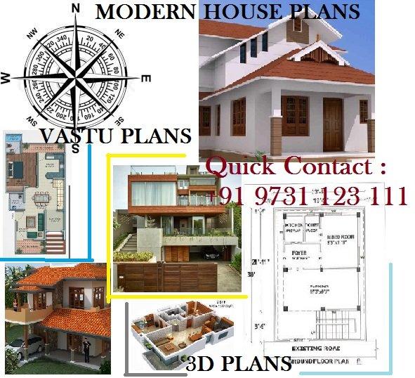 Vastu House plans & Modern house designs